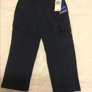 Brand new boys Champion navy sweatpants size 4